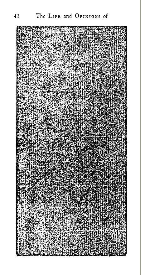 Dublin 1779 edition, Tristram Shandy, p 42